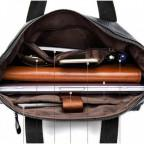 Кожаная сумка для ноутбука JASPER & MAINE 7120A-1 - Фото № 106