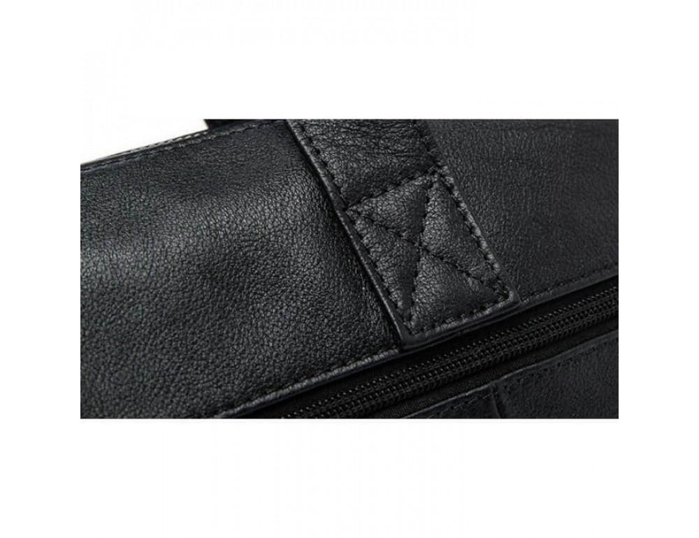 Кожаная сумка для ноутбука JASPER & MAINE 7120A-1 - Фото № 6