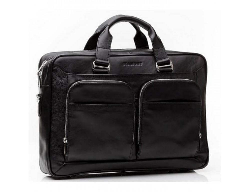 Мужская кожаная сумка Blamont Bn035A - Фото № 2