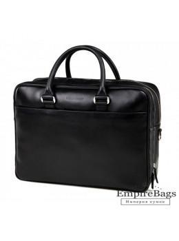 Вместительный кожаный портфель Blamont Bn107AI