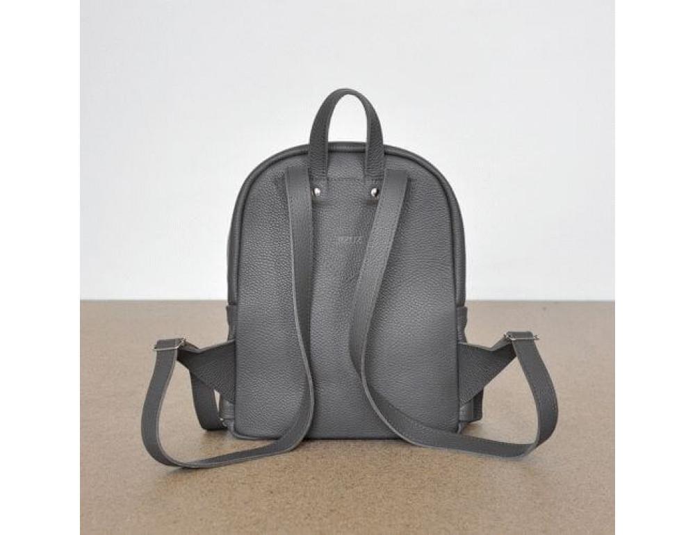 Женский кожаный рюкзак CARBON DARK GREY - Фото № 4