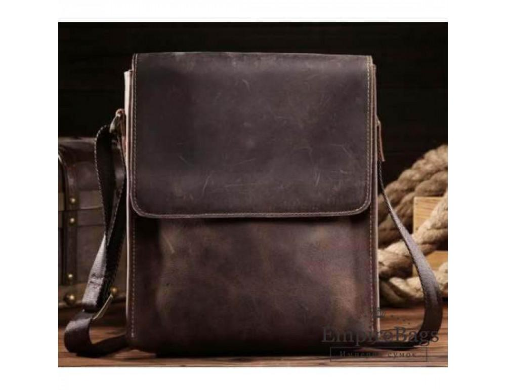 Мужская кожаная сумка на плечо Bexhill bx9382 - Фото № 1
