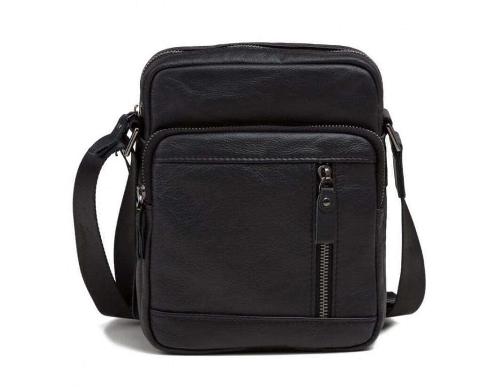 Мужская кожаная сумка на плечо TIDING BAG 8028A - Фото № 2