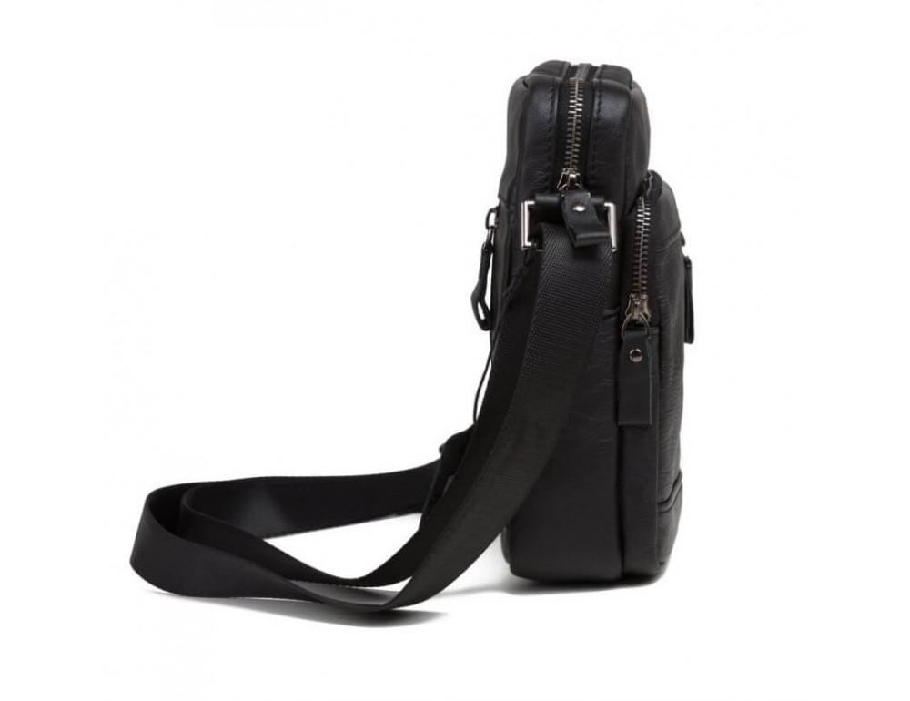 Мужская кожаная сумка на плечо TIDING BAG 8028A - Фото № 3