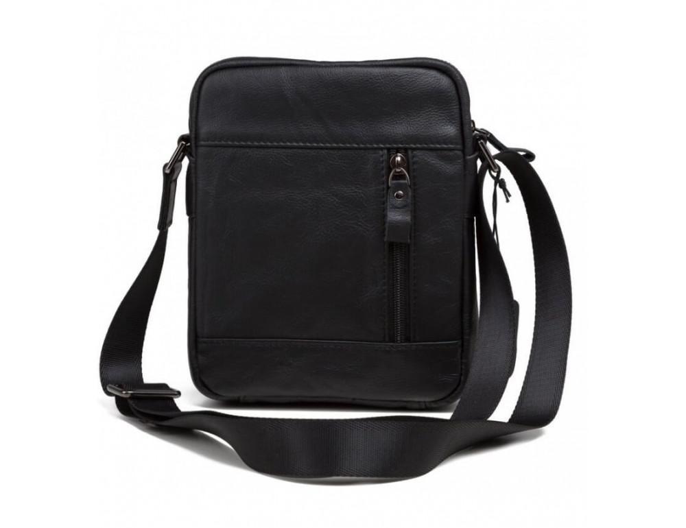 Мужская кожаная сумка на плечо TIDING BAG 8028A - Фото № 4