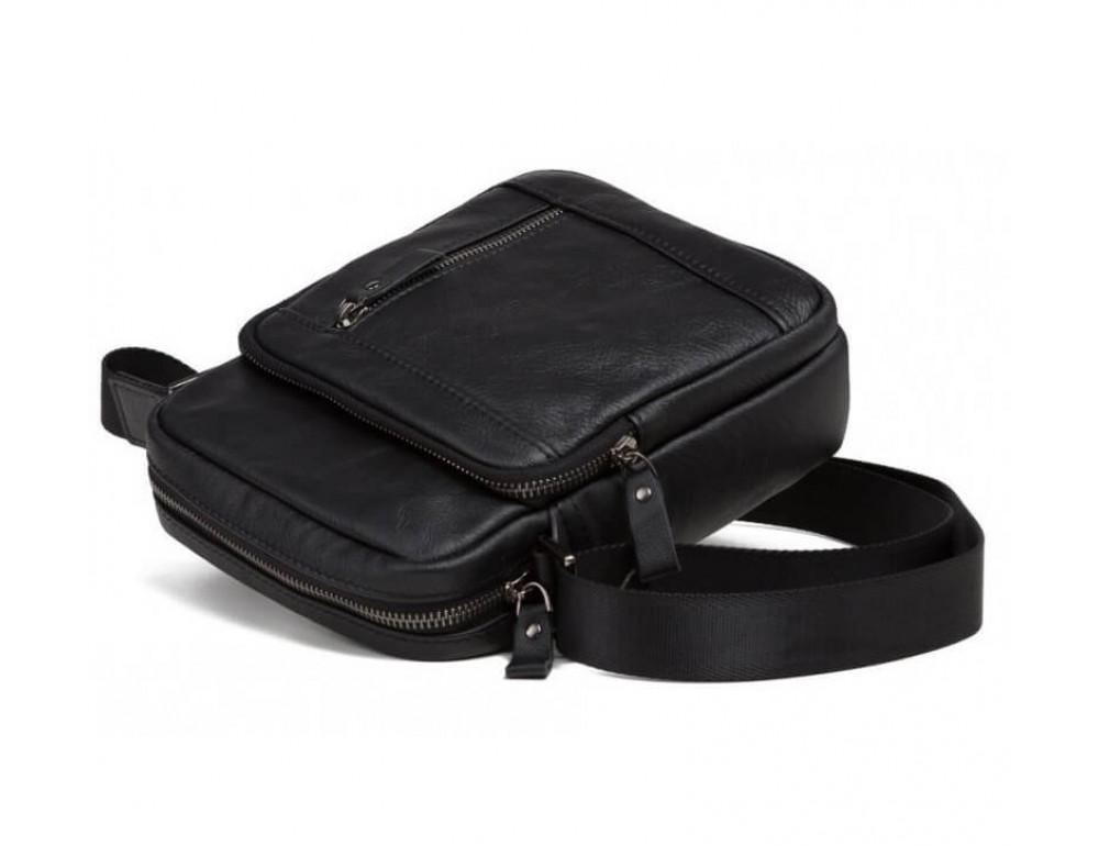 Мужская кожаная сумка на плечо TIDING BAG 8028A - Фото № 5