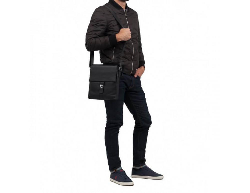 Мужской кожаный мессенджер TIDING BAG M2860A - Фото № 2