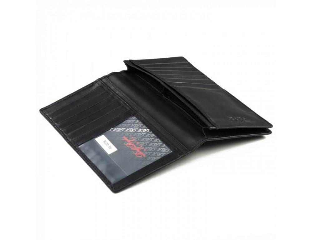 Мужской кожаный портмоне Ruff Ryder RE-0078A - Фото № 2