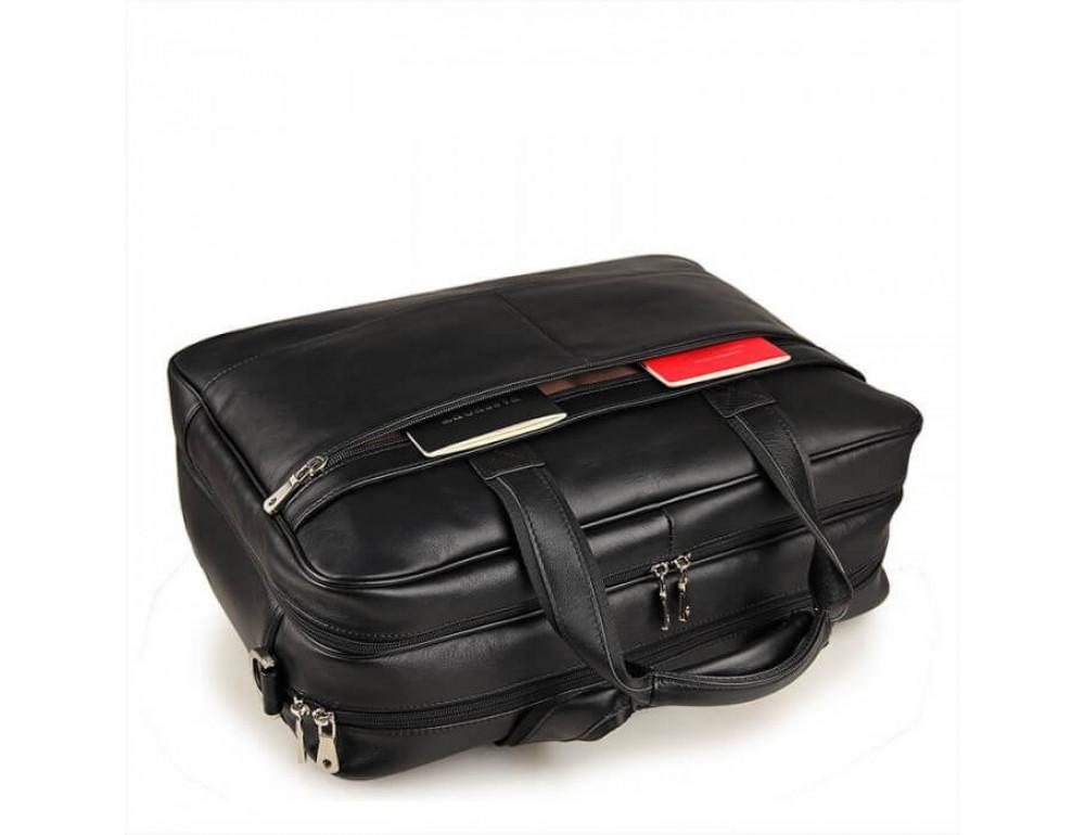 Кожаная сумка JASPER-MAINE 7319A - Фото № 3