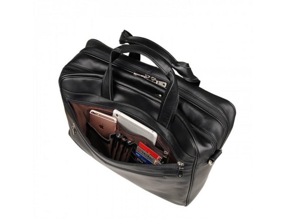 Кожаная сумка JASPER-MAINE 7319A - Фото № 6