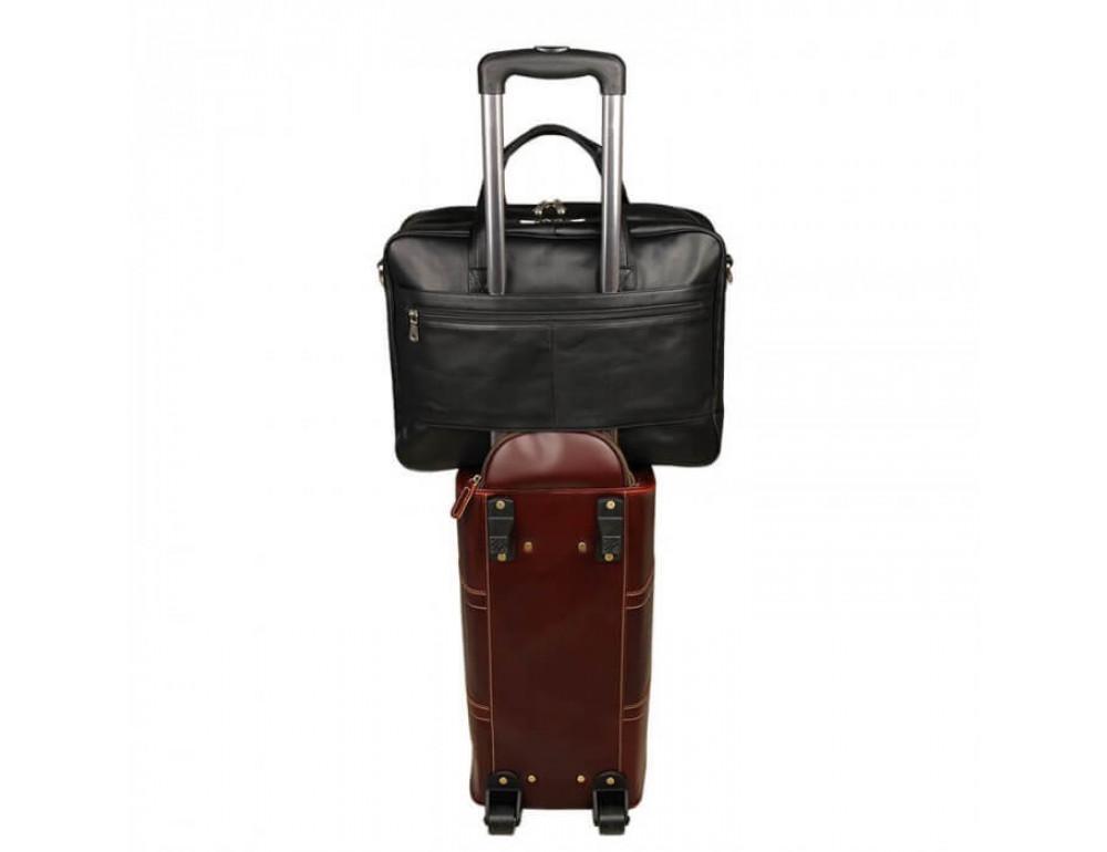 Кожаная сумка JASPER-MAINE 7319A - Фото № 11