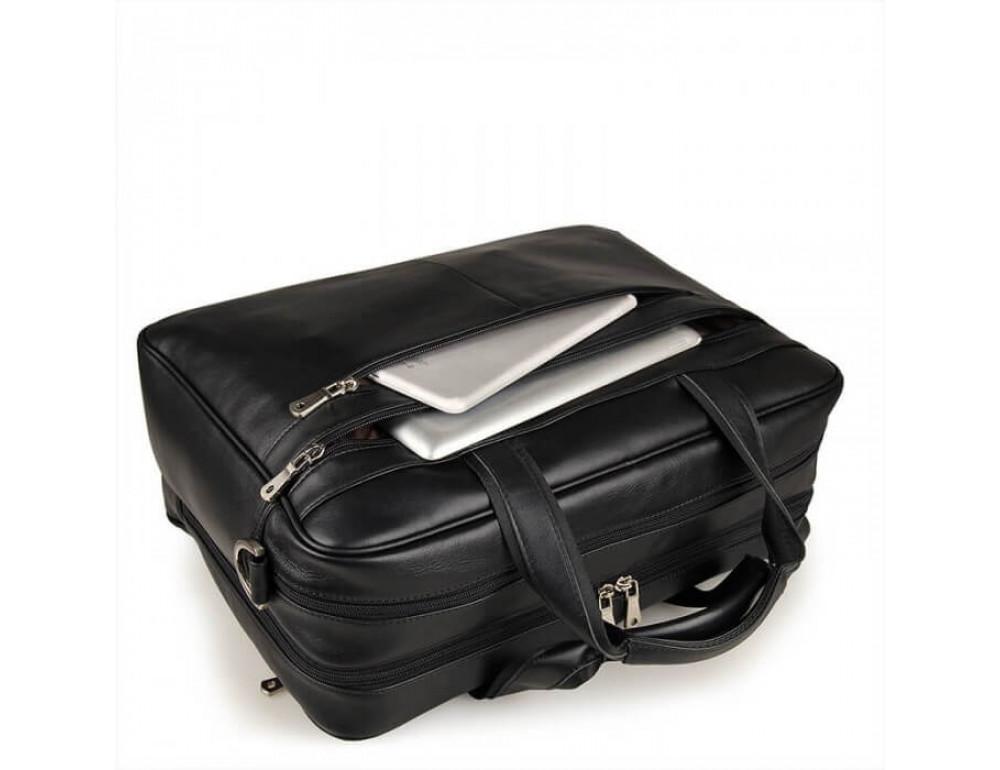 Кожаная сумка JASPER-MAINE 7319A - Фото № 13