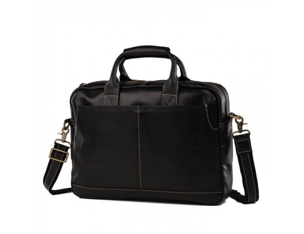 Мужская кожаная сумка TIDING BAG T1019A - Фото № 2