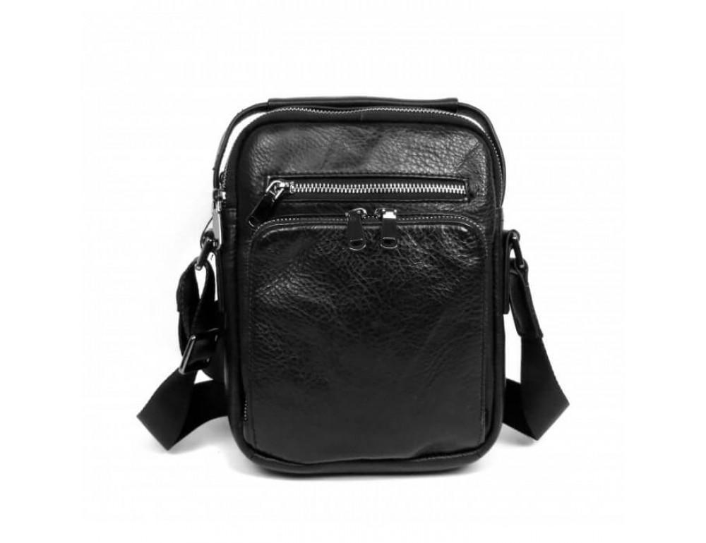 Мужская кожаная сумка на плечо TIDING BAG 5005A - Фото № 2