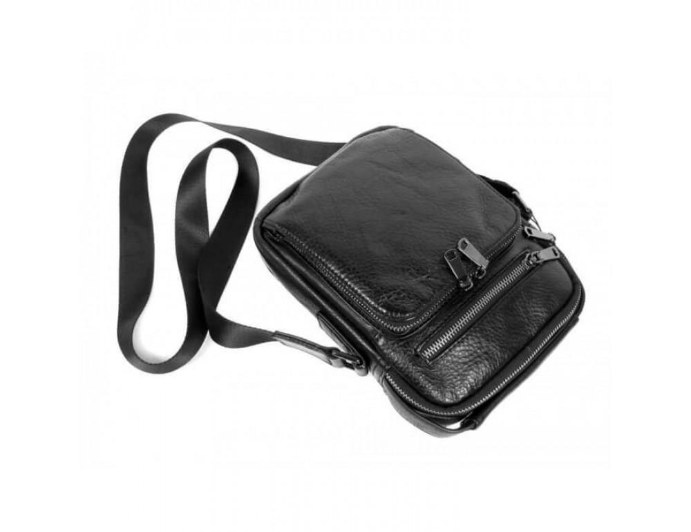 Мужская кожаная сумка на плечо TIDING BAG 5005A - Фото № 4