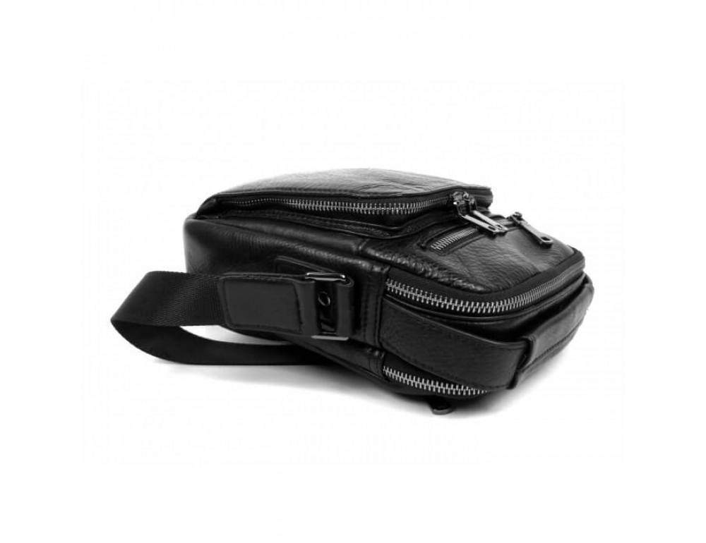 Мужская кожаная сумка на плечо TIDING BAG 5005A - Фото № 5
