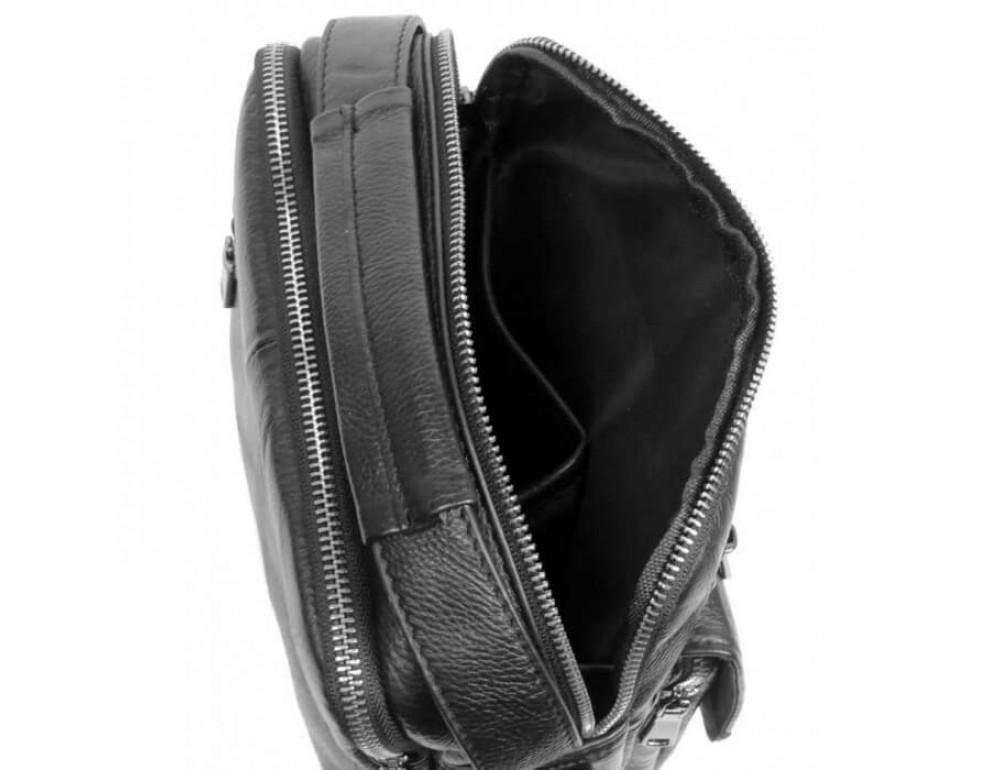 Мужская кожаная сумка на плечо TIDING BAG 5005A - Фото № 6
