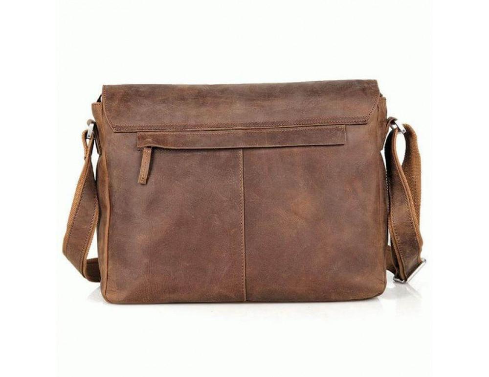 Кожаная сумка через плечо TIDING BAG 6002LR-2 - Фото № 3