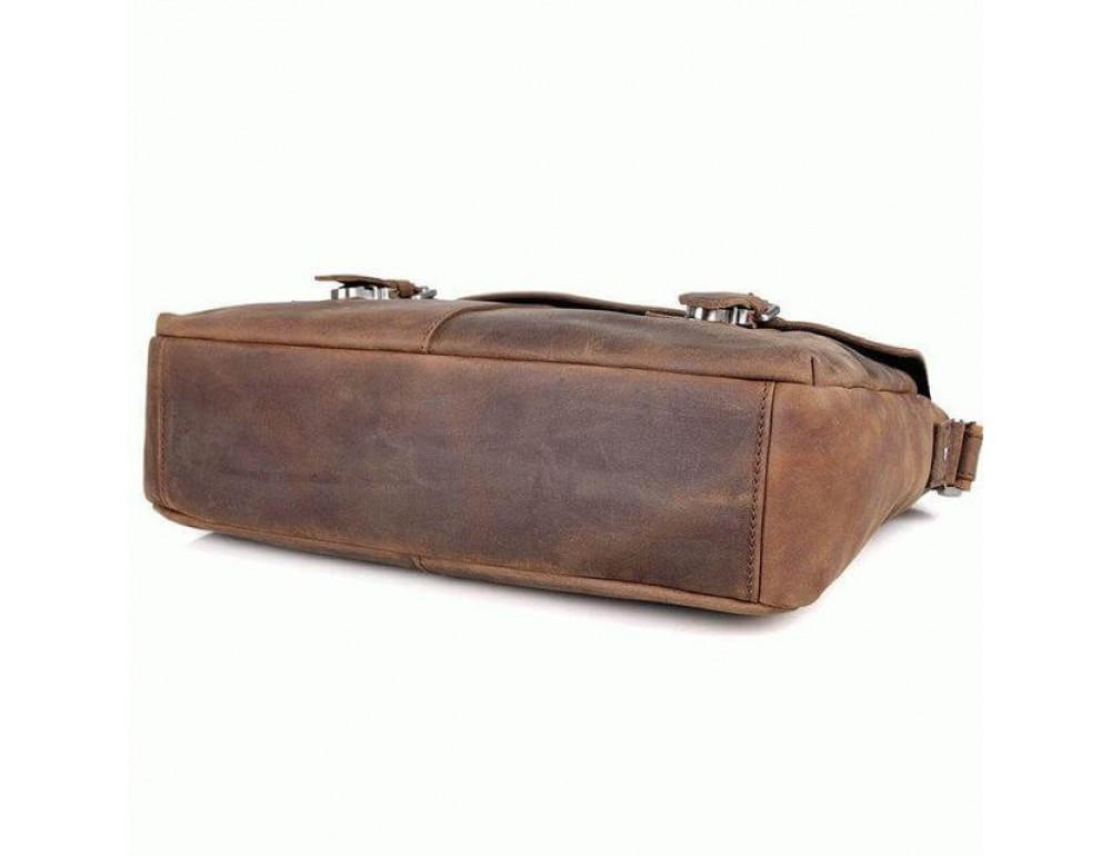 Кожаная сумка через плечо TIDING BAG 6002LR-2 - Фото № 4