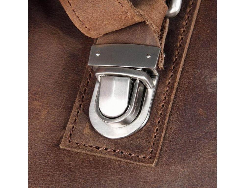 Кожаная сумка через плечо TIDING BAG 6002LR-2 - Фото № 7