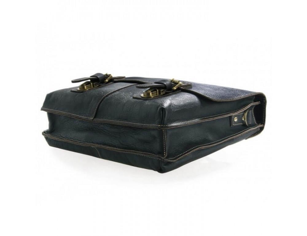 Мужской кожаный портфель TIDING BAG 7090A - Фото № 4