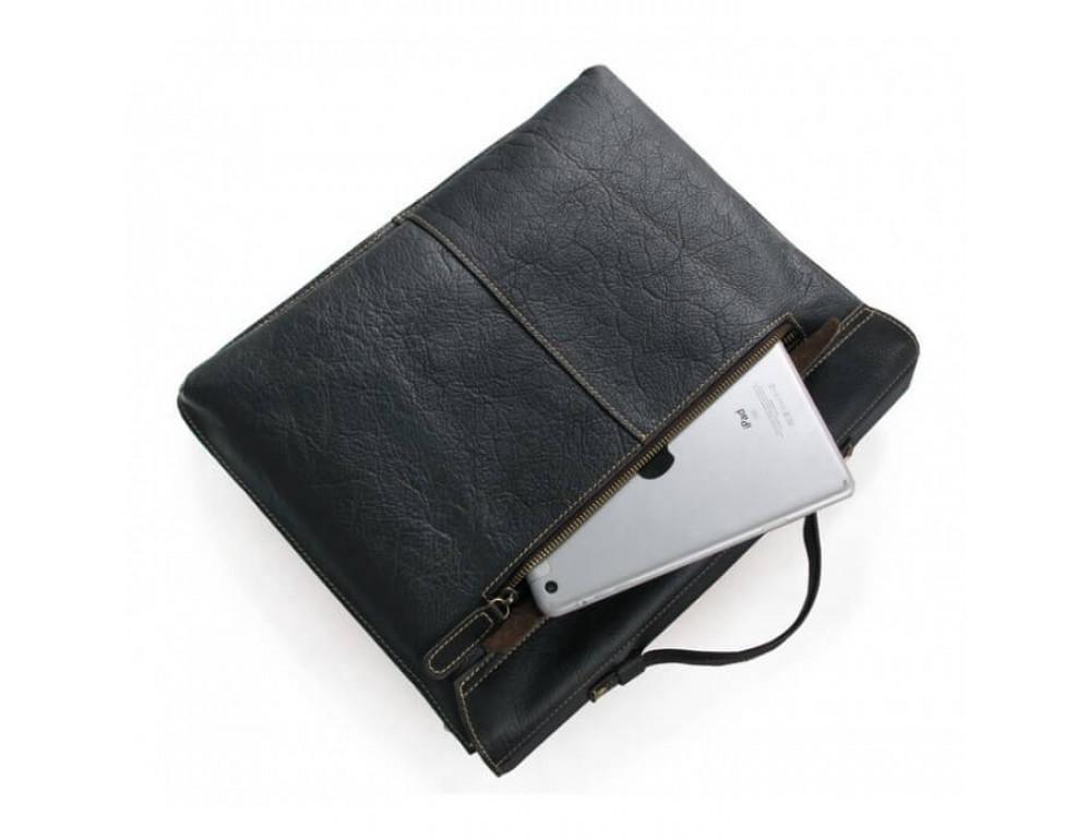 Мужской кожаный портфель TIDING BAG 7090A - Фото № 6