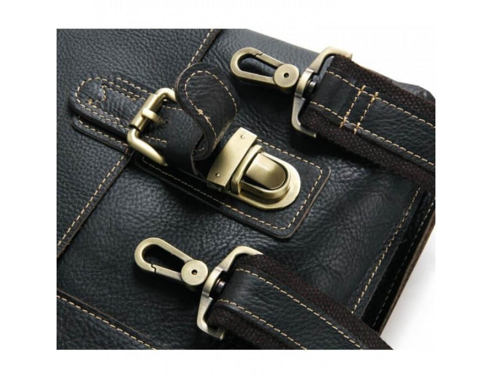 Мужской кожаный портфель TIDING BAG 7090A - Фото № 7