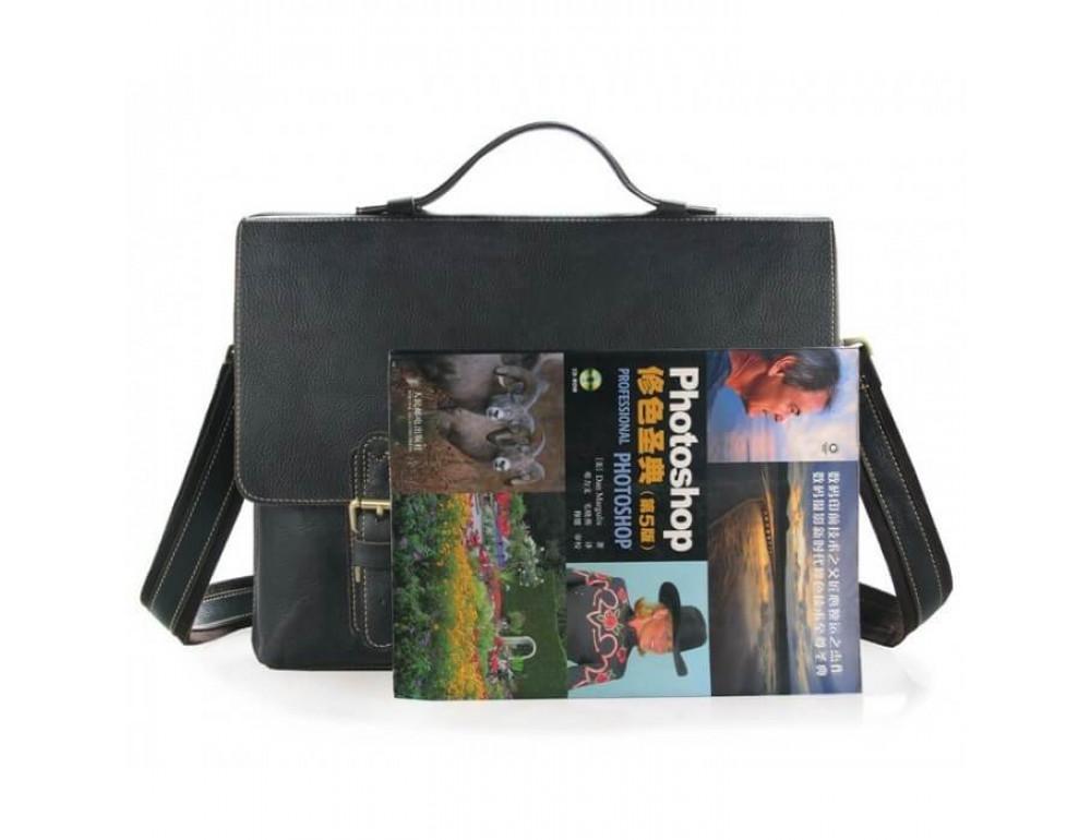 Мужской кожаный портфель TIDING BAG 7090A - Фото № 8