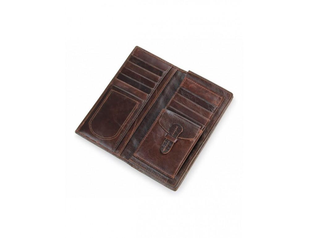 Мужской кожаный портмоне TIDING BAG 8011-1Q - Фото № 3
