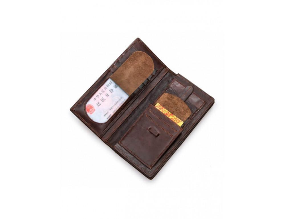 Мужской кожаный портмоне TIDING BAG 8011-1Q - Фото № 4