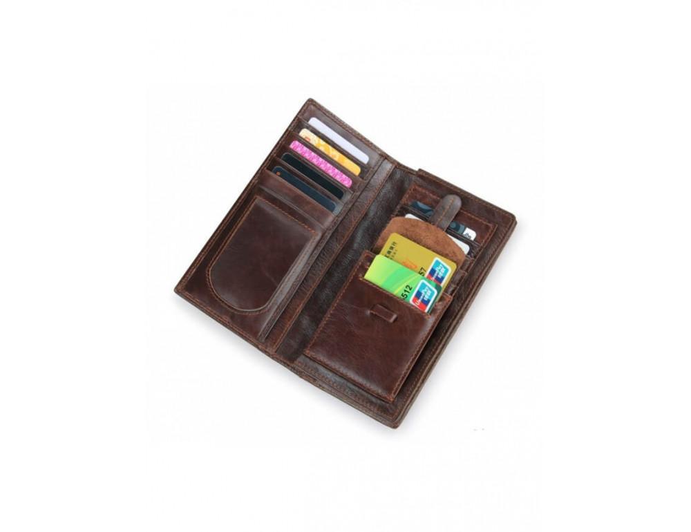 Мужской кожаный портмоне TIDING BAG 8011-1Q - Фото № 5