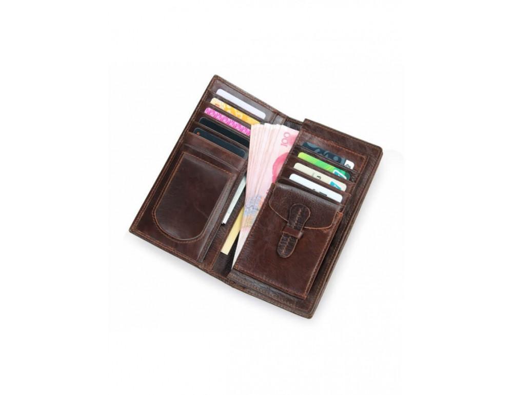Мужской кожаный портмоне TIDING BAG 8011-1Q - Фото № 6