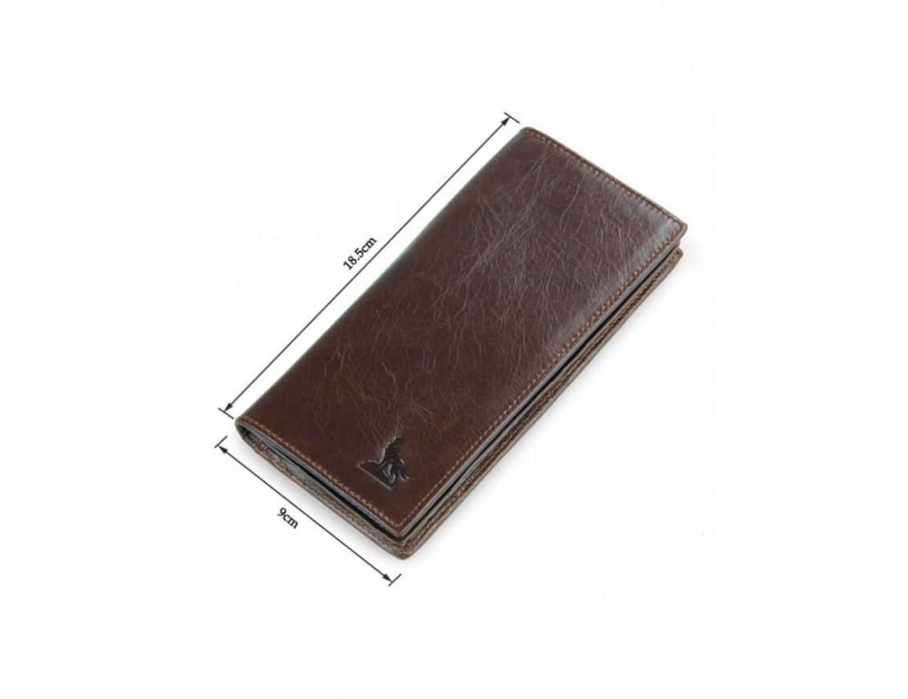 Мужской кожаный портмоне TIDING BAG 8011-1Q - Фото № 7