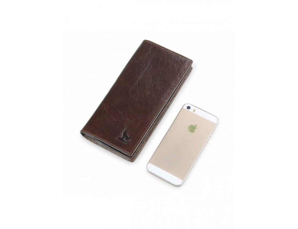 Мужской кожаный портмоне TIDING BAG 8011-1Q - Фото № 8