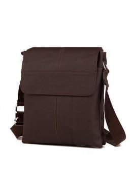 Мужская кожаная сумка планшет TIDING BAG A25-064C