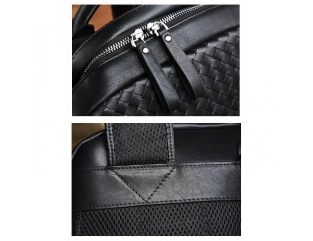 Стильный городской рюкзак TIDING BAG B3-1741A черный - Фото № 17
