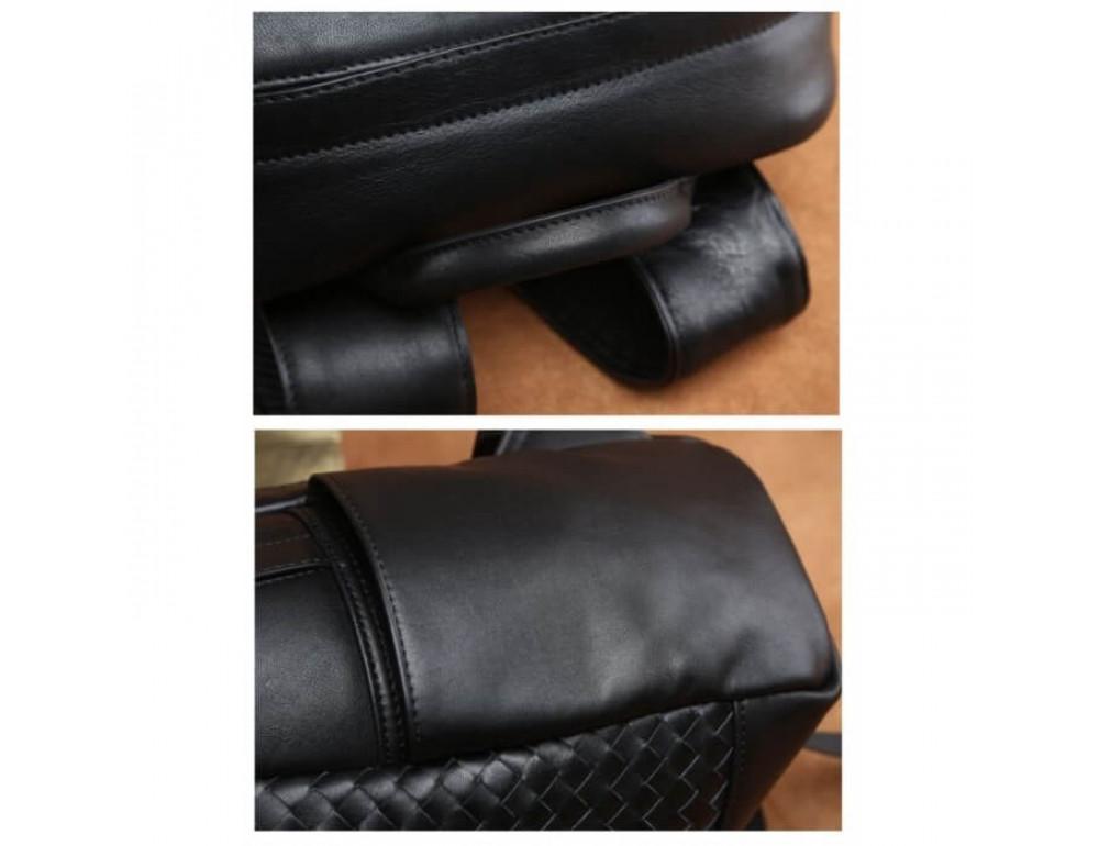 Стильный городской рюкзак TIDING BAG B3-1741A черный - Фото № 16