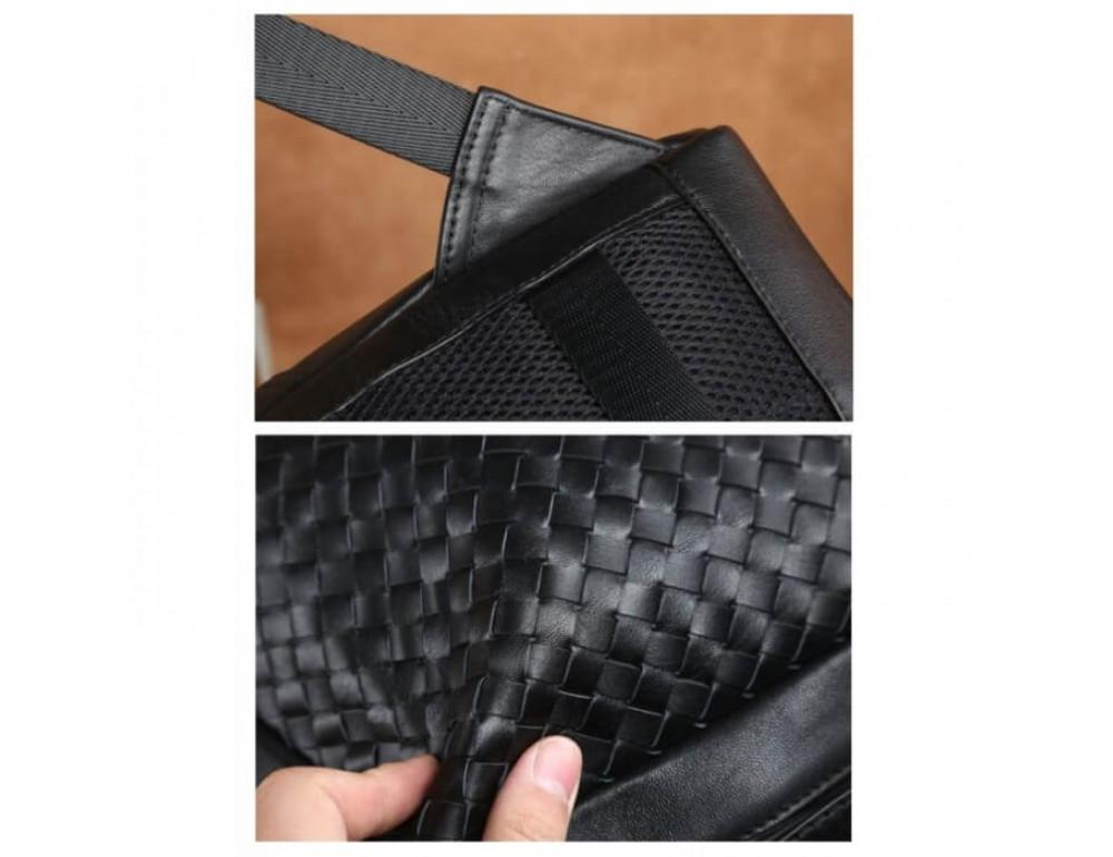 Стильный городской рюкзак TIDING BAG B3-1741A черный - Фото № 15
