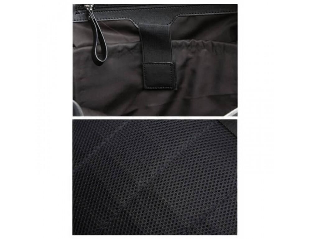 Стильный городской рюкзак TIDING BAG B3-1741A черный - Фото № 14