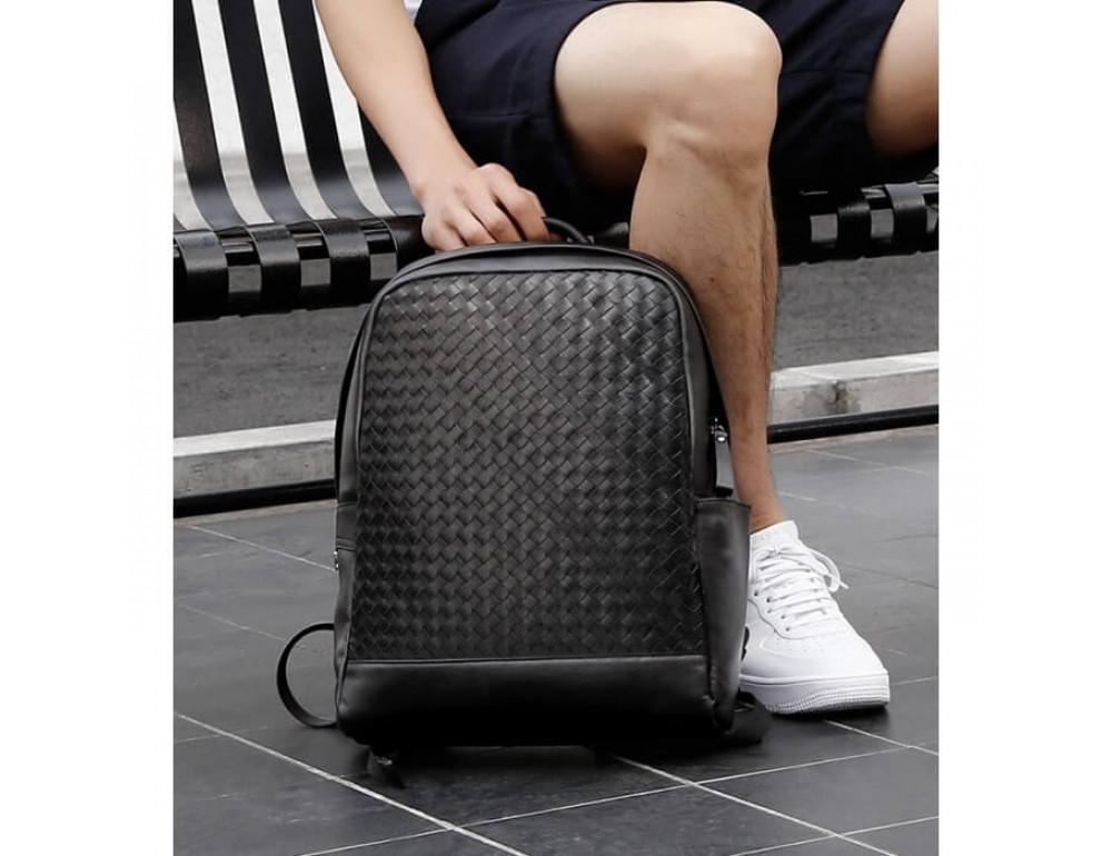 Стильный городской рюкзак TIDING BAG B3-1741A черный - Фото № 13