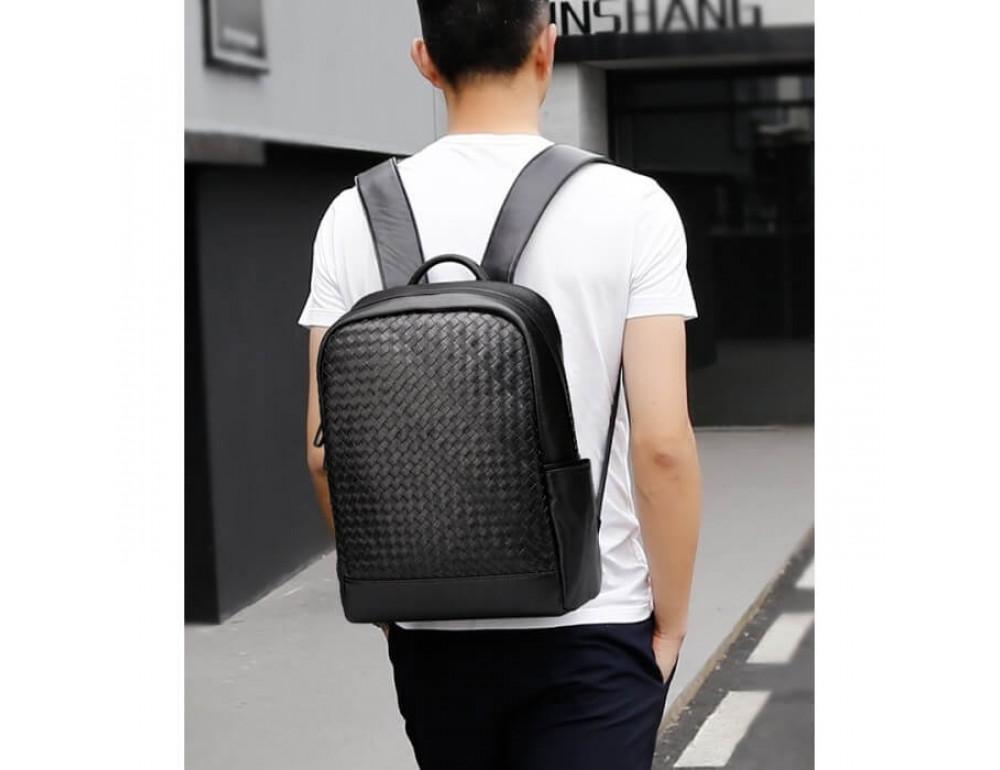 Стильный городской рюкзак TIDING BAG B3-1741A черный - Фото № 12
