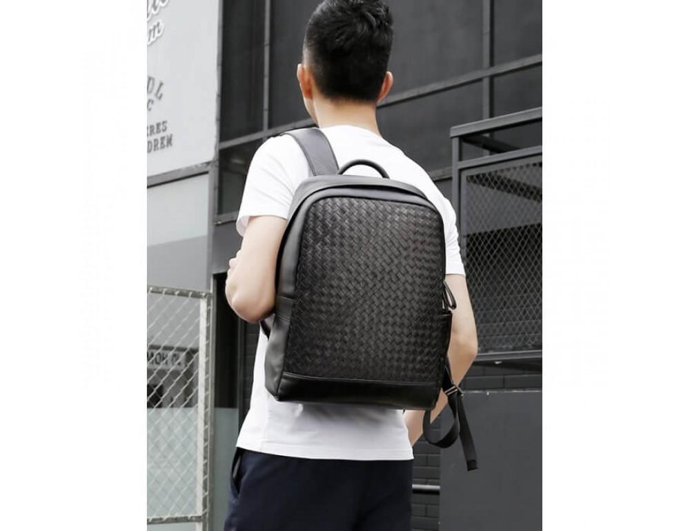 Стильный городской рюкзак TIDING BAG B3-1741A черный - Фото № 2