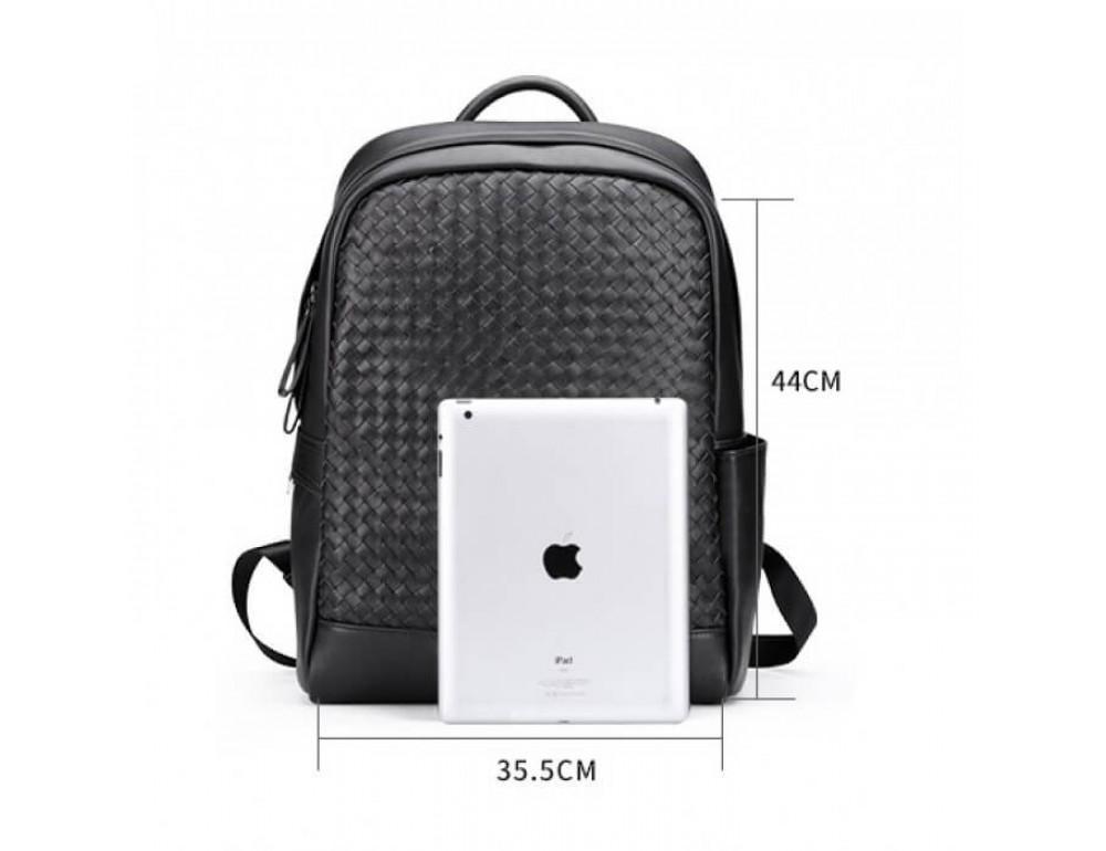 Стильный городской рюкзак TIDING BAG B3-1741A черный - Фото № 8
