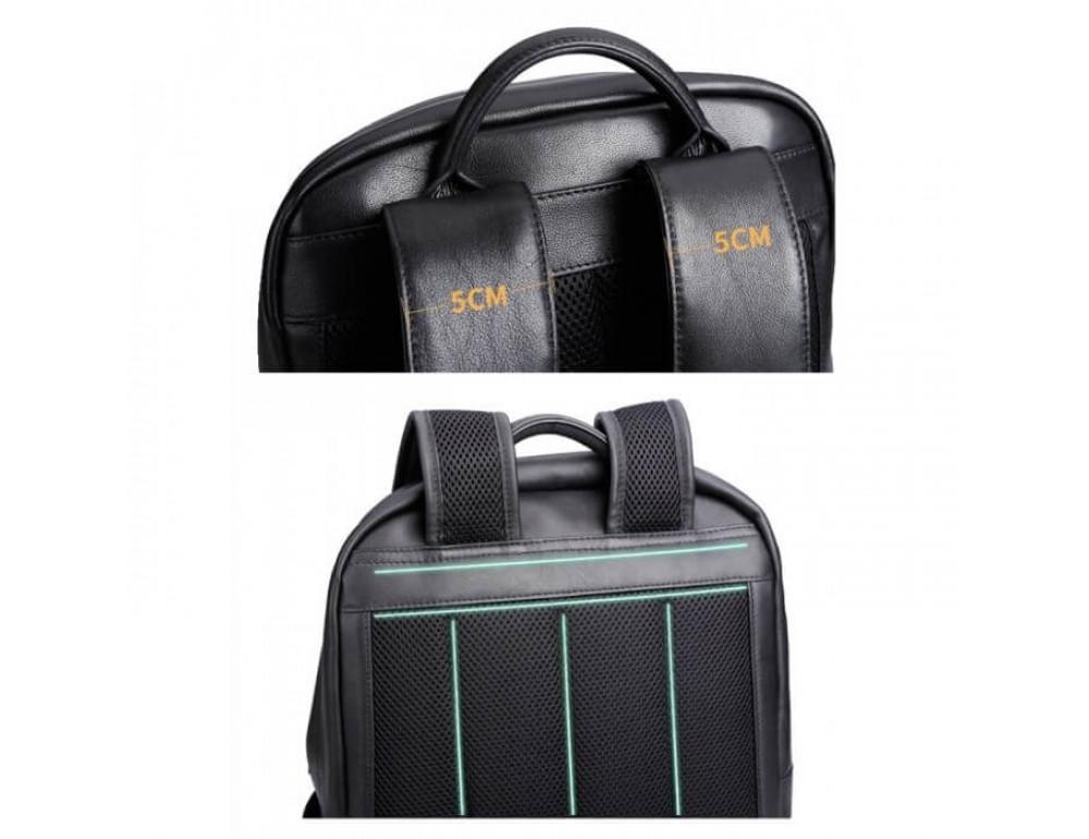 Стильный городской рюкзак TIDING BAG B3-1741A черный - Фото № 7