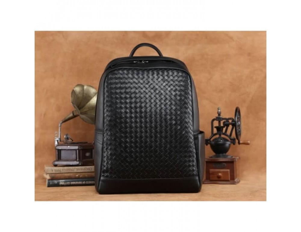 Стильный городской рюкзак TIDING BAG B3-1741A черный - Фото № 5
