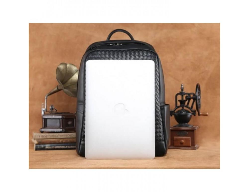 Стильный городской рюкзак TIDING BAG B3-1741A черный - Фото № 3