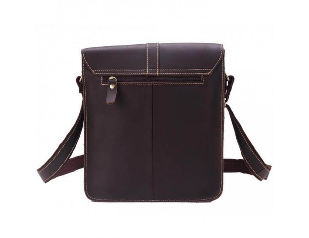 Мужская кожаная сумка через плечо TIDING BAG G2093-1B - Фото № 3