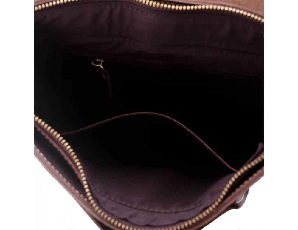 Мужская кожаная сумка через плечо TIDING BAG G2093-1B - Фото № 5