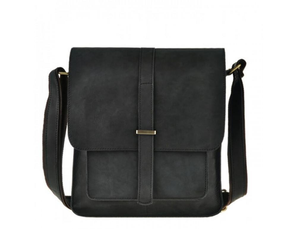 Мужская кожаная сумка через плечо TIDING BAG G2093 - Фото № 2