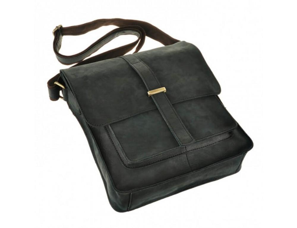 Мужская кожаная сумка через плечо TIDING BAG G2093 - Фото № 4